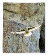 Diving Falcon Fleece Blanket