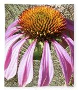 Divinity Gold - Echinacea Fleece Blanket