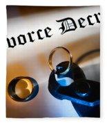 Divorce Decree Fleece Blanket