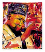 Dizzy Gillespie Fleece Blanket