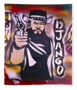Django Blood Red Fleece Blanket