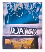 Django Once Upon A Time Fleece Blanket