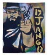 Django Three Faces Fleece Blanket