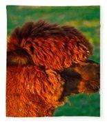 Do You Like My New Haircut Alpaca Fleece Blanket