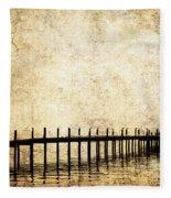 Dock 2 Fleece Blanket