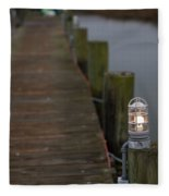 Dock Light Fleece Blanket