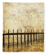 Dock Fleece Blanket
