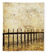 Dock Fleece Blanket