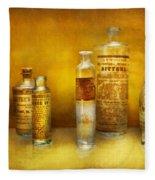 Doctor - Oil Essences Fleece Blanket