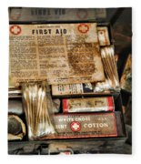 Doctor - The First Aid Kit Fleece Blanket