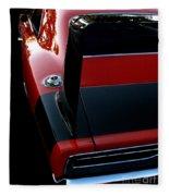 Dodge Daytona Fin Fleece Blanket