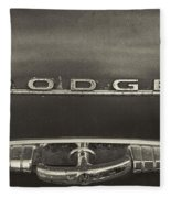Dodge Emblem Fleece Blanket