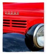Dodge Truck Fleece Blanket