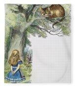 Dodgson: Alice, 1865 Fleece Blanket