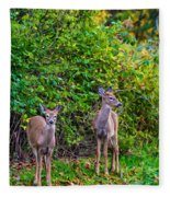 Doe A Deer Fleece Blanket