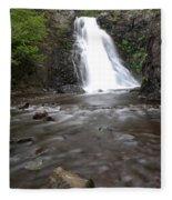 Dog Creek Falls Fleece Blanket