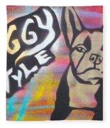 Doggy Style 1 Fleece Blanket