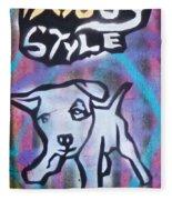 Doggy Style 2 Fleece Blanket