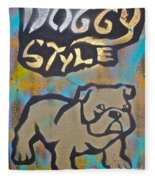 Doggy Style 3 Fleece Blanket