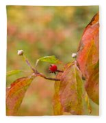 Dogwood Berrie Fleece Blanket
