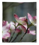 Dogwood Blossoms Fleece Blanket