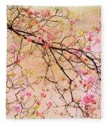 Dogwood  Canvas Fleece Blanket