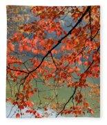 Dogwood Tree Fleece Blanket