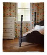 Dollhouse Bedroom Fleece Blanket
