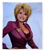 Dolly Parton Fleece Blanket