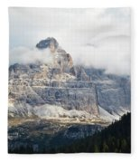 Dolomites Of Italy Fleece Blanket