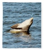 Dolphin Playing Fleece Blanket