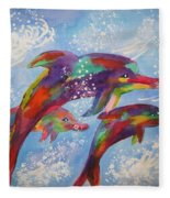 Dolphin Playjourney Fleece Blanket