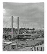 Dome And Bridge Fleece Blanket