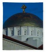 Dome At St Sophia Fleece Blanket