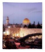 Dome - Twilight Fleece Blanket