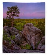 Dome Rock Fleece Blanket