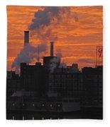 Domino Sugars Sunrise Fleece Blanket