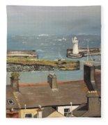 Donaghadee Ireland Irish Sea Fleece Blanket