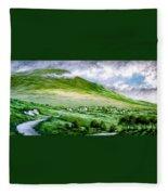 Donegal Hills Fleece Blanket