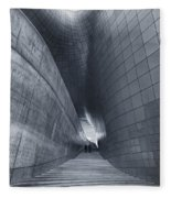 Dongdaemun Design Plaza Fleece Blanket