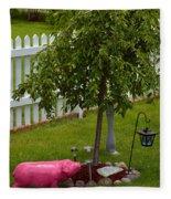 Donna's Cenotaph Fleece Blanket