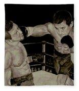 Donovan Boxing Fleece Blanket