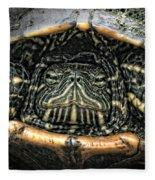 Don't Rock My House - Turtle Fleece Blanket