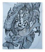 Doodle - 04 Fleece Blanket