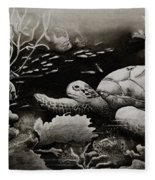 Doomed Sea Life Fleece Blanket