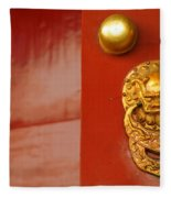 Door Handle Fleece Blanket