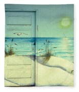 Door Of Perception Fleece Blanket