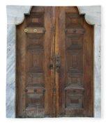 Door Of The Topkapi Palace - Istanbul Fleece Blanket