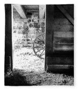 Doorway Through Time Fleece Blanket