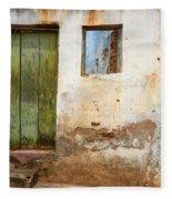 Doors And Windows Lencois Brazil 4 Fleece Blanket